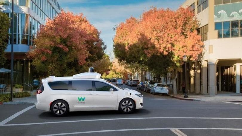 FCA: migliaia di Pacifica per il progetto a guida autonoma Google
