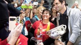 Federer, che festa a Zurigo!