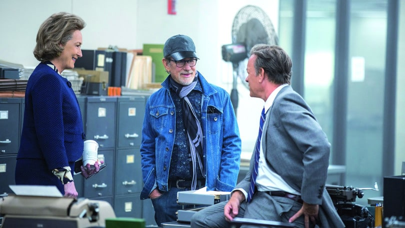 Spielberg-Hanks-Streep sono The Post