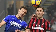 Coppa Italia Milan-Lazio 0-0. il tabellino