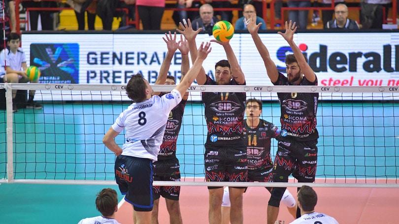 Volley: Champions League, Perugia batte il Roeselare e vola ai Play Off