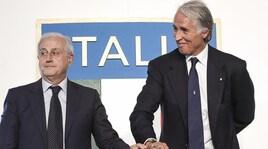 Fabbricini commissario Figc, la Lega Calcio a Malagò