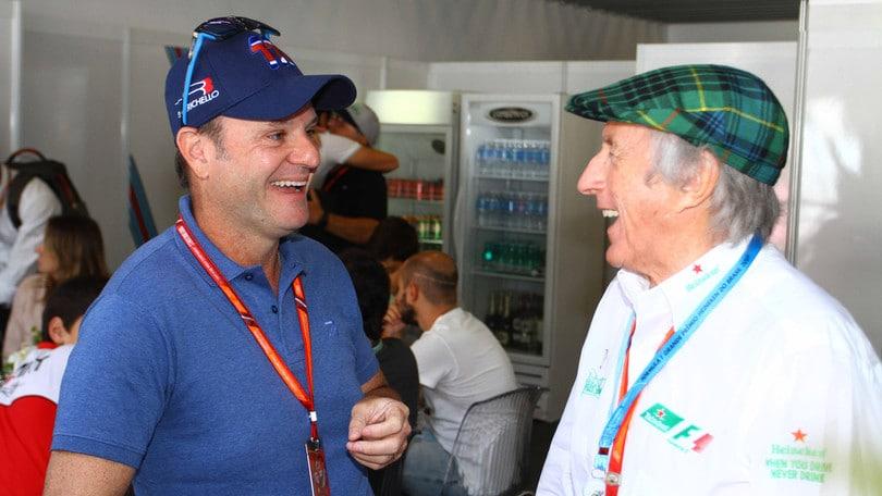 F1, Barrichello sopravvissuto a un tumore