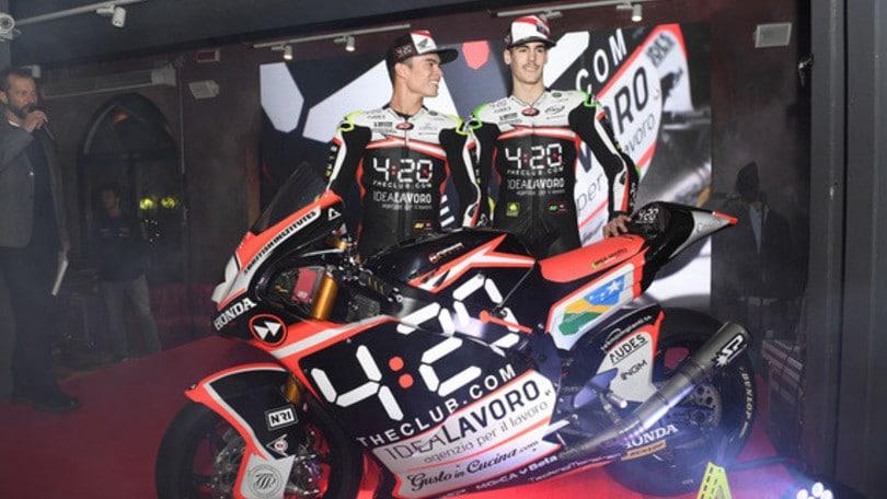 Moto2, presentato il Team Forward