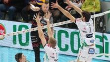 Volley: Superlega, Trento-Perugia big match della 7a di ritorno