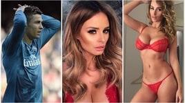 Dall'Inghilterra: «Ronaldo infedele. Messaggi erotici con Rhian Suggers»