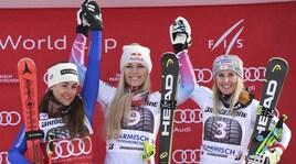 Sci, Audi FIS Ski World Cup un altro podio per Sofia Goggia