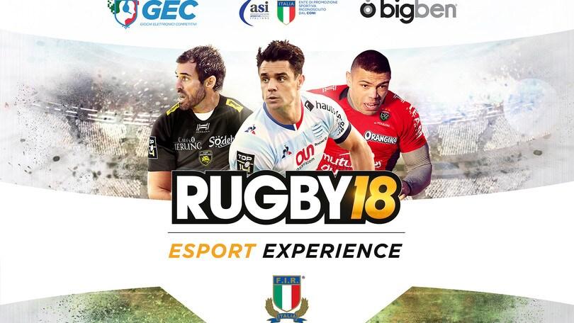 Esports e Rugby insieme allo Stadio Olimpico!