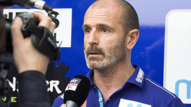 MotoGp Yamaha, Meregalli: «Il giudizio di Vale conta di più di quello di Maverick»