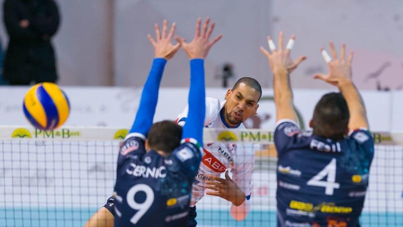 Volley: A2 Maschile, Pool A, successi per Roma, Bergamo, Brescia e Siena
