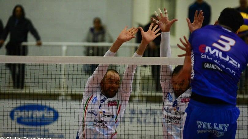 Volley: A2 Maschile, Pool B, Alessano vince a Cantù, Aversa cade ad Ortona
