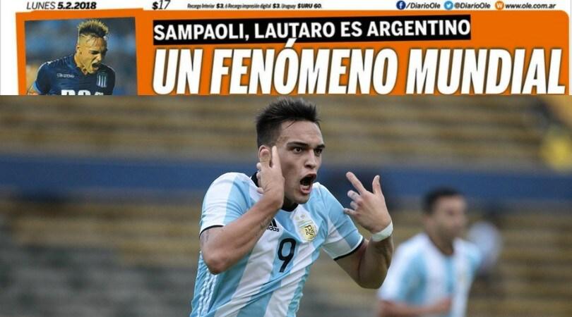 Martinez fa sognare l'Inter e Sampaoli: ora punta al Mondiale