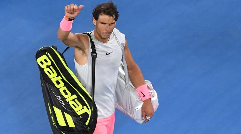 Tennis, obiettivo Acapulco per Nadal: «Il recupero procede bene»