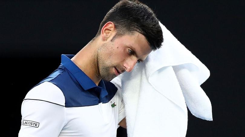 Tennis, Djokovic ha già iniziato la riabilitazione