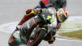 A Valencia Moto2 e Moto3 fermate dal maltempo
