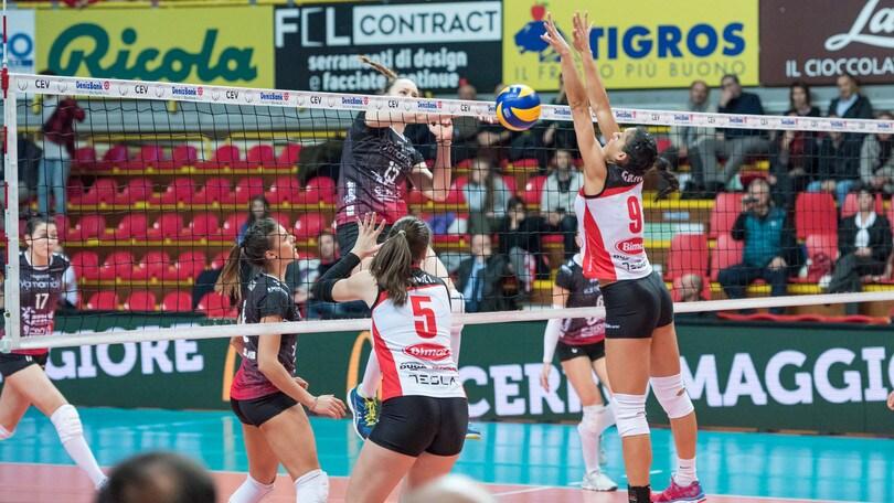 Volley: Cev Cup, Casalmaggiore e Busto giocano il ritorno degli ottavi