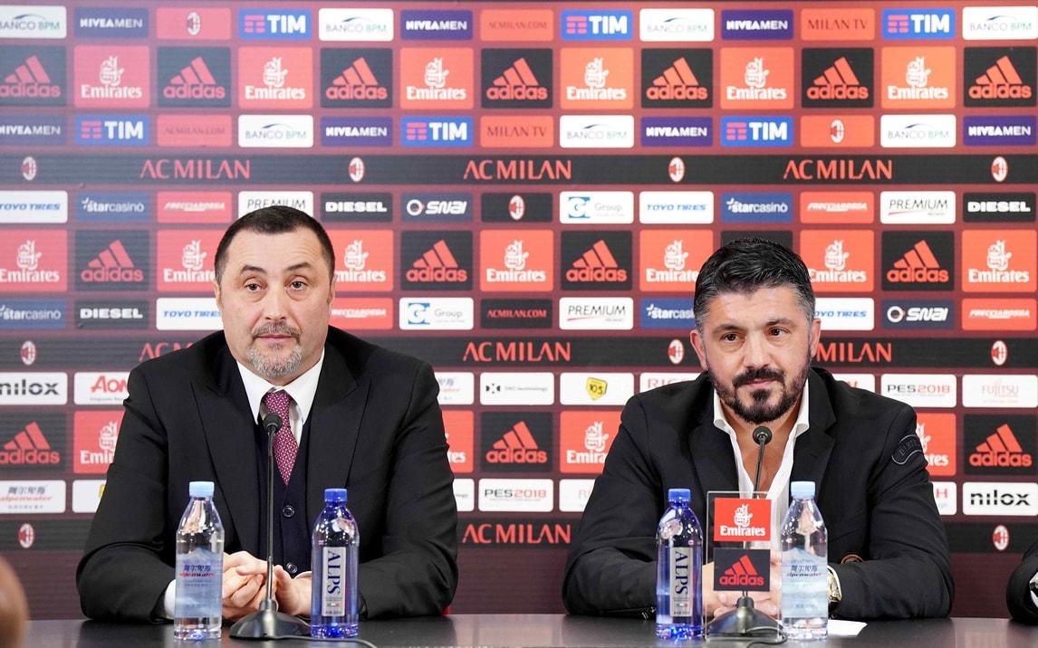 Milan, Mirabelli: «Spero che Gattuso resti per 10 anni»