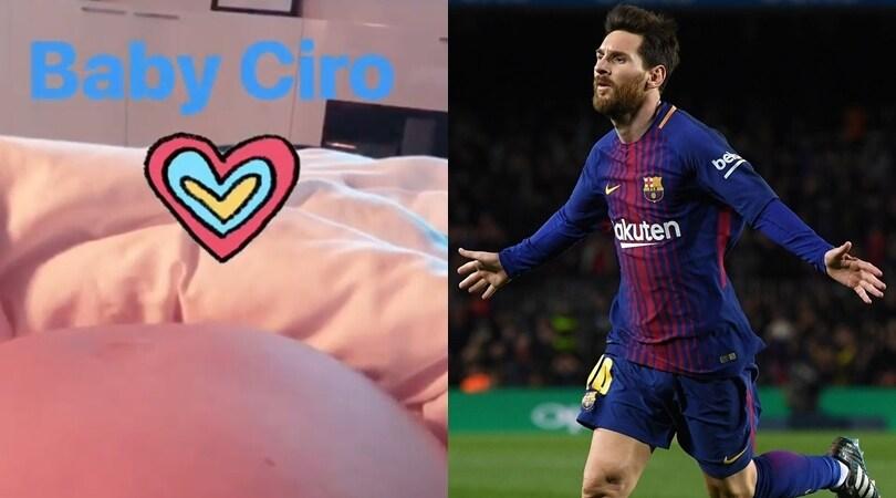 Messi, il terzo figlio si chiamerà... Ciro