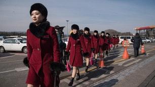 Pyeongchang 2018, ecco le cheerleader nordcoreane