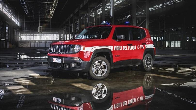 Jeep Renegade ora in servizio anche con i Vigili del Fuoco