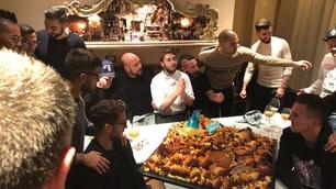 Napoli, tutti in pizzeria per il patto scudetto