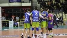Volley: A2 Maschile, Pool B, Aversa doma Mondovì al tie break