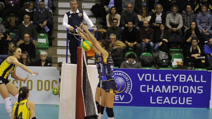 Volley: Champions League, Conegliano ancora in rimonta, Fenerbahce ko
