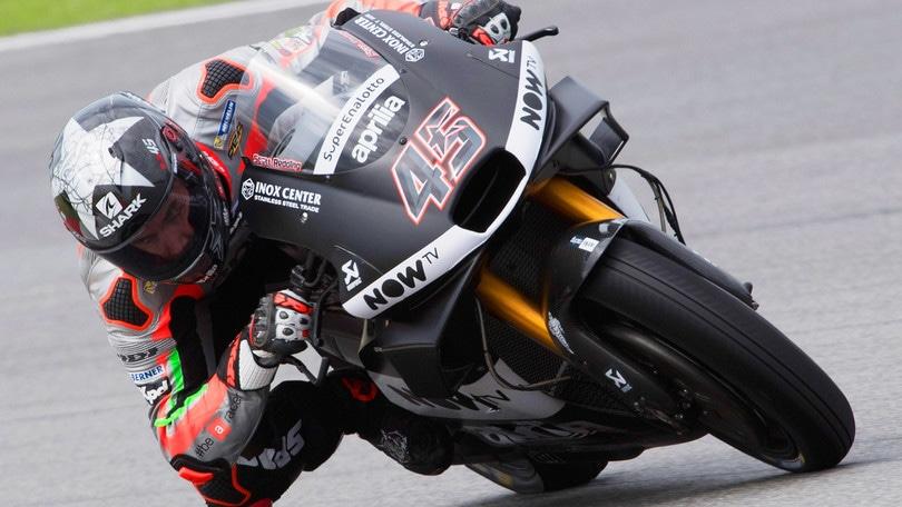 MotoGp Aprilia, Redding: «Felice di avere questa opportunità»