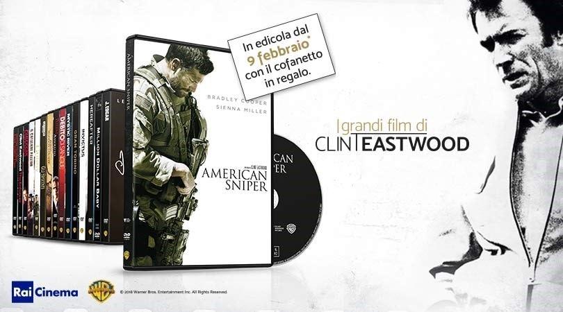Clint Eastwood in dvd