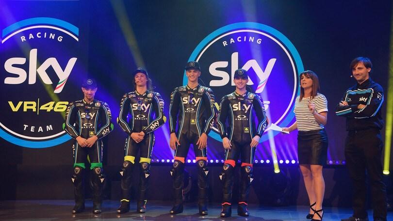 Moto2 e Moto3, ecco Sky Racing Team VR46