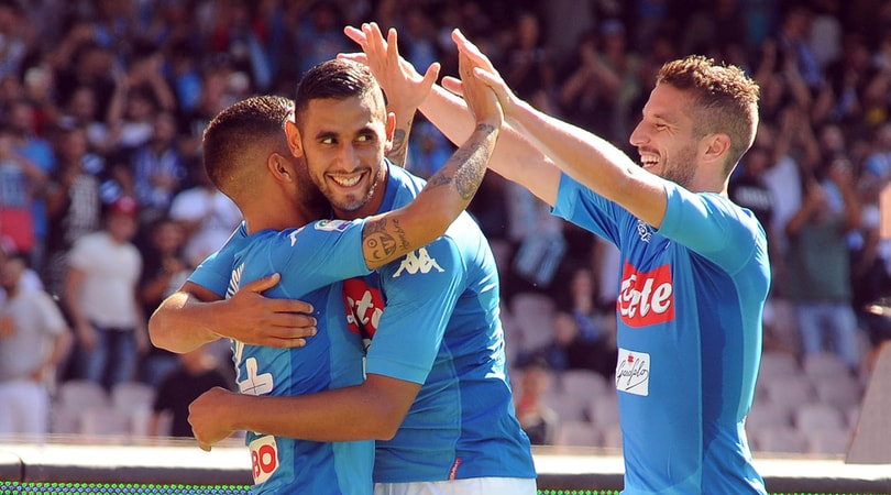 Mertens sicuro:«È Ghoulam il grande colpo del Napoli»