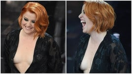 Noemi sfiora l'incidente sexy a Sanremo