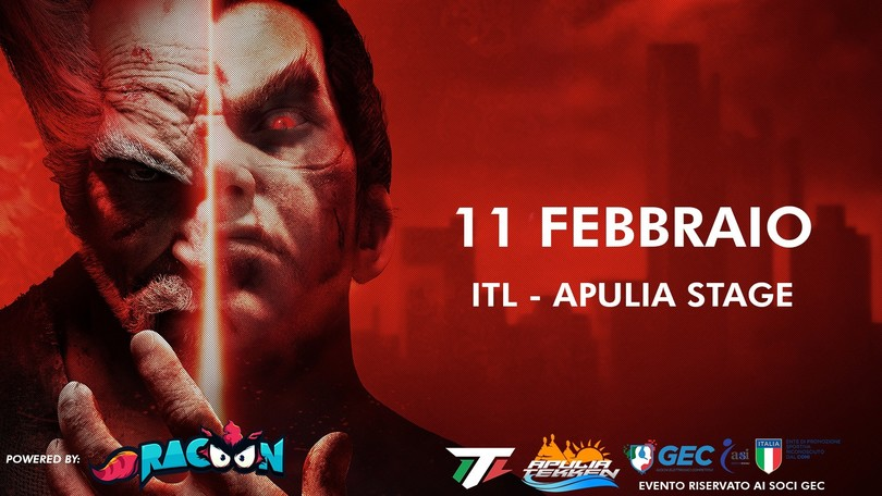 L'Italian Tekken League approda in Puglia!