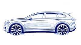 Volkswagen Touareg, la terza generazione debutta nella Città Proibita