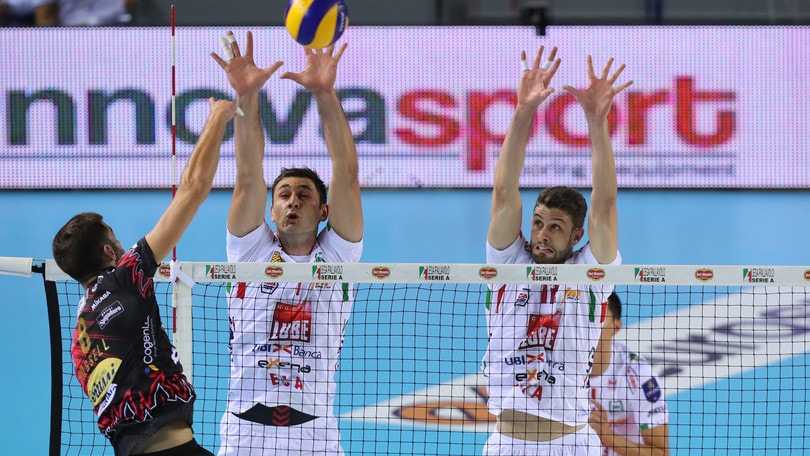 Volley: Superlega, Perugia-Civitanova, il big match si gioca in anticipo