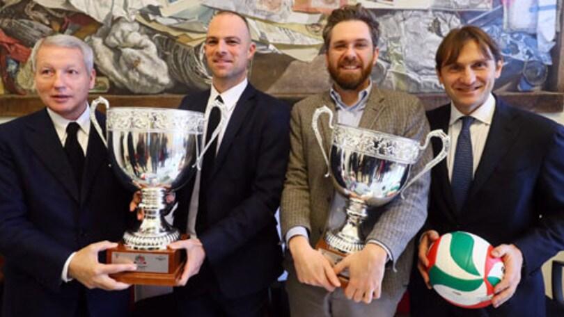 Volley: Presentate a Bologna le finali di Coppa Italia