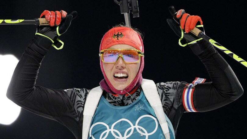 Italia, delusione nel biathlon: Vitozzi chiude sesta, Wierer 18ª