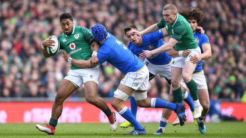 Rugby, Sei Nazioni: Italia, secondo ko. L'Irlanda vince 56-19