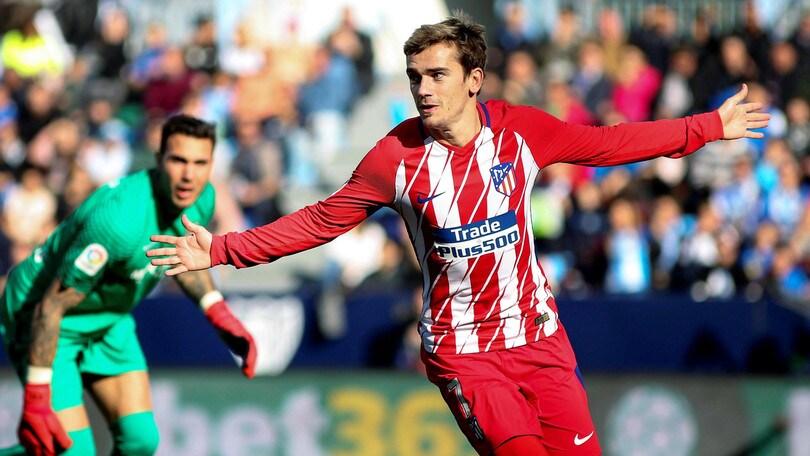 Liga, Atletico Madrid-Bilbao: Colchoneros avanti a 1,38