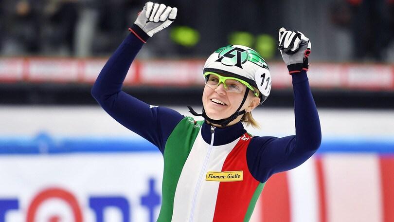 Lo short track sorride all'Italia: finale nella staffetta