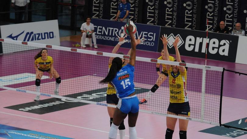 Volley: A2 Femminile, negli anticipi successi per Club Italia e Ravenna
