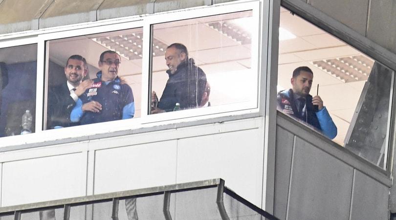 Sarri: «Il Napoli non soffre di vertigini»