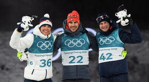 Biathlon: Windisch incredulo e felice sul podio