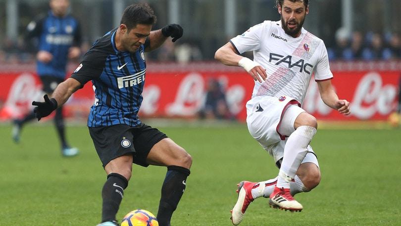 Serie A Inter-Bologna 2-1, il tabellino