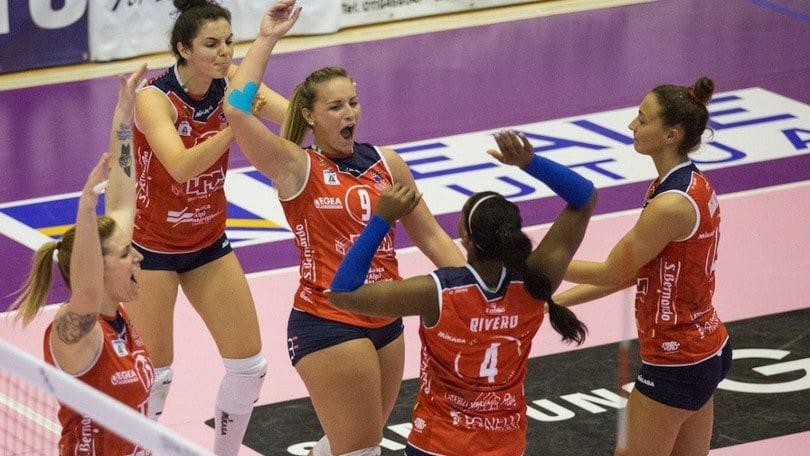 Volley: A2 Femminile, Cuneo ferma la Battistelli, Mondovì di nuovo sola in testa