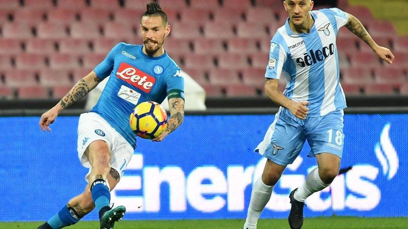 Serie A Napoli, «Hamsik recupera in fretta. Per Sarri gioca pure in attacco»