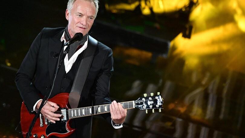 Sting, ecco il tour in Italia