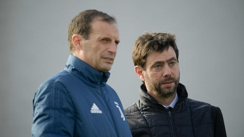 Juventus, Allegri: «Temo la fisicità del Tottenham»