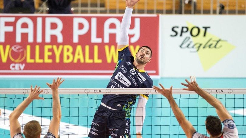 Volley: Champions League, Civitanova, Trento e Perugia affrontano la 2a di ritorno