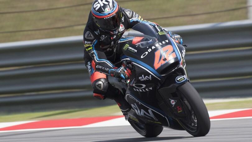 Moto2, Bagnaia parte forte